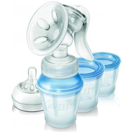 Avent Odsávačka mateřského mléka Natural s VIA systémem