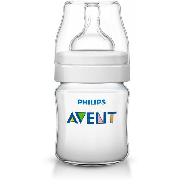 Avent Láhev CLASSIC+ 125 ml Bílá