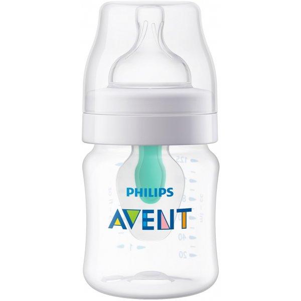Avent Láhev Anti-colic 125 ml s ventilem AirFree, 1 ks Bílá