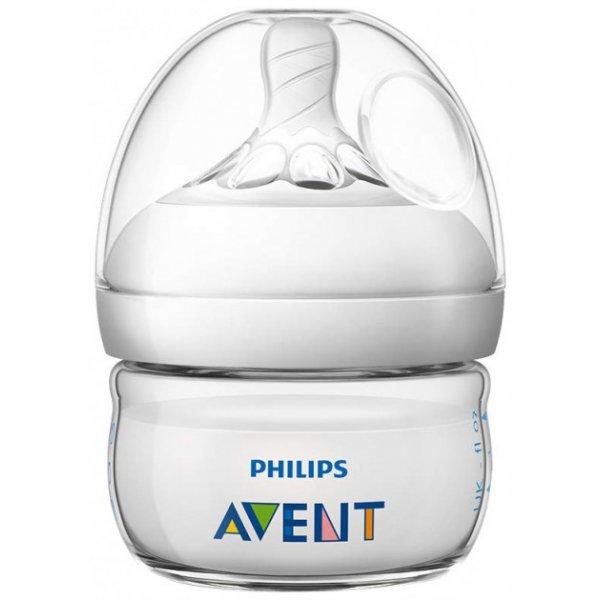 Avent Láhev Natural 60 ml, 1 ks Bílá