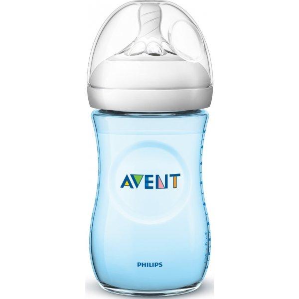 Avent Láhev Natural 260 ml, 1 ks Modrá