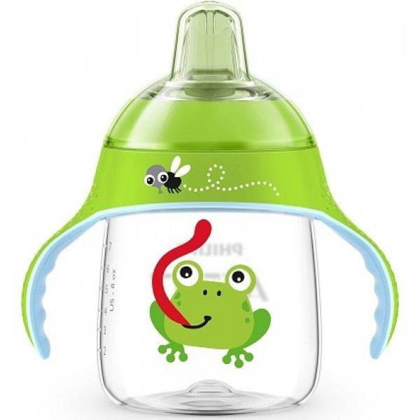 Avent Hrneček pro první doušky Premium 260 ml Zelený