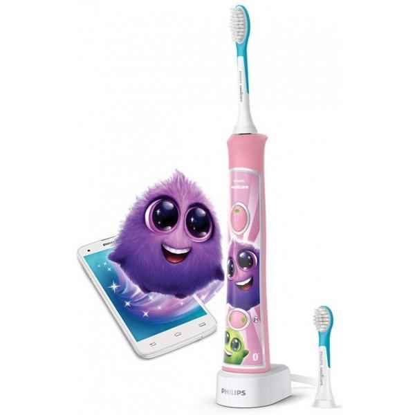 Avent Zubní kartáček elektrický dětský Sonicare Růžový